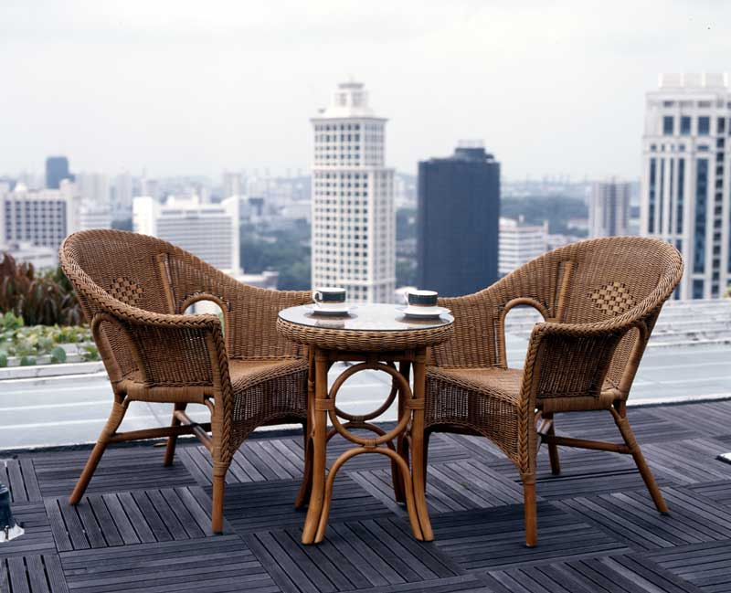 Cebu garden furniture unicane singapore wicker and rattan for Outdoor furniture singapore