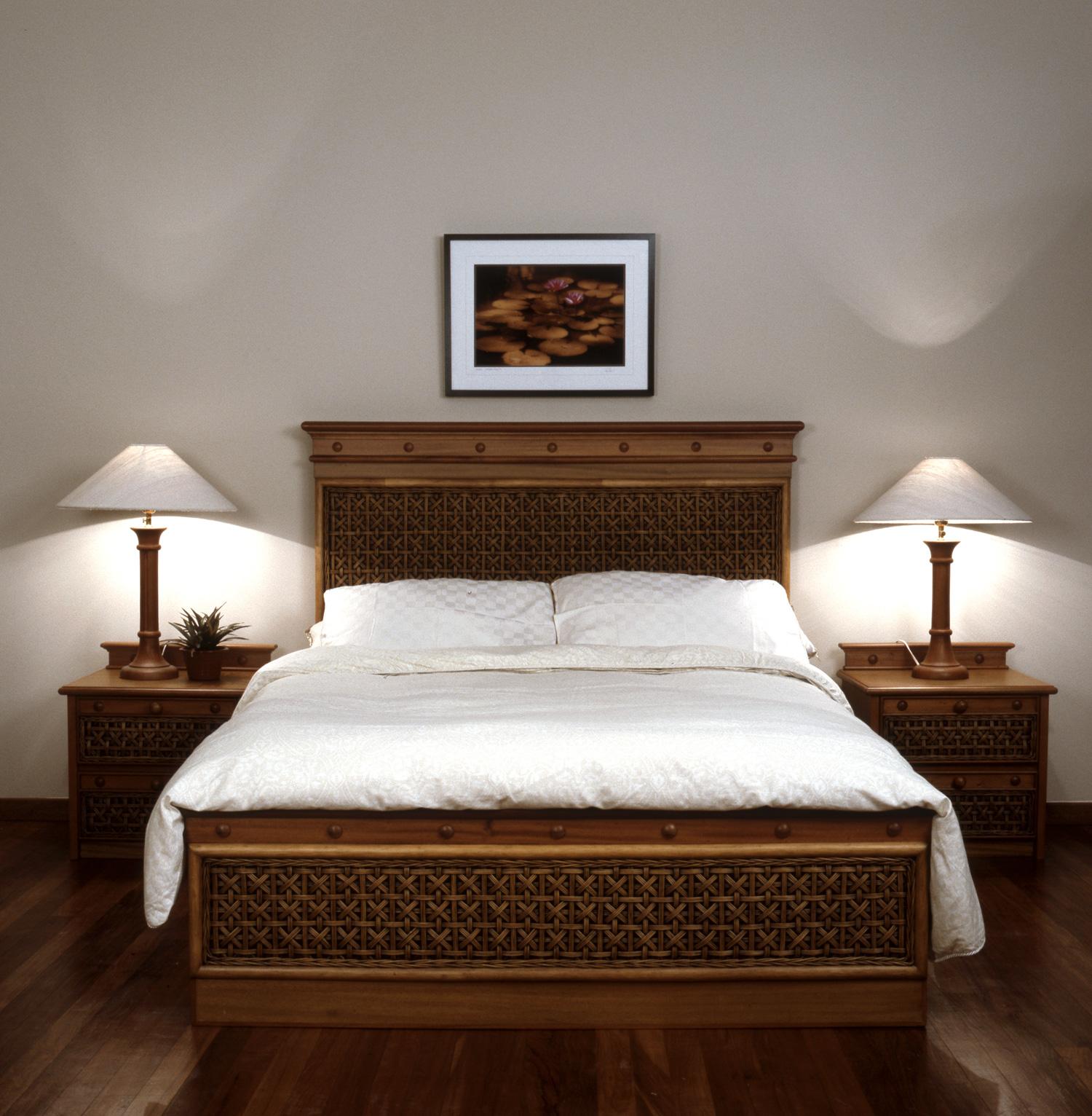 Barbara Rattan Bedroom Furniture