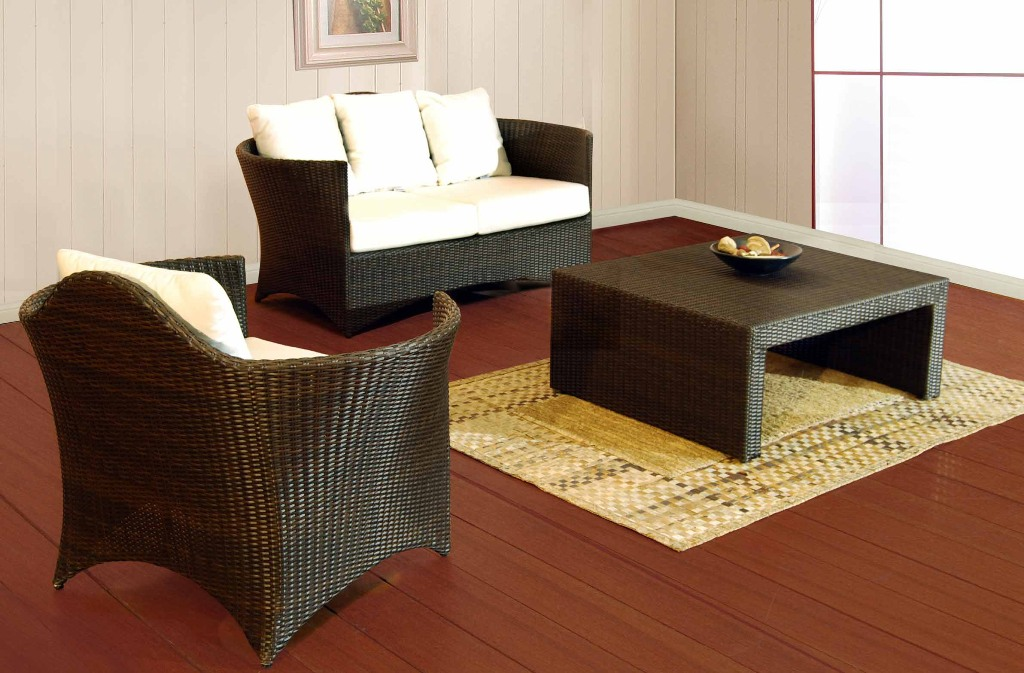 go rusty with rattan living room furniture unicane