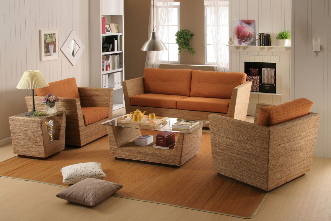Wicker Living Room Furniture Wamena Living Wicker Furniture