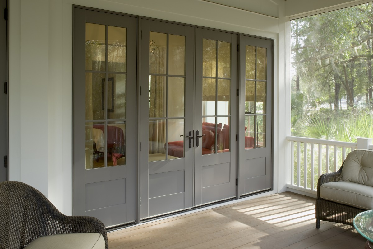Exterior French Doors Should Open In Or Out
