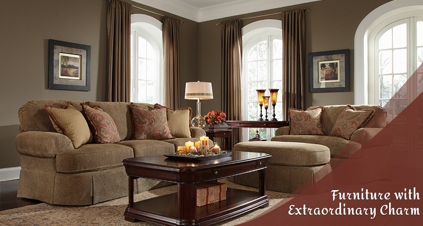 Sofa Sets: Furniture with Extraordinary Charm