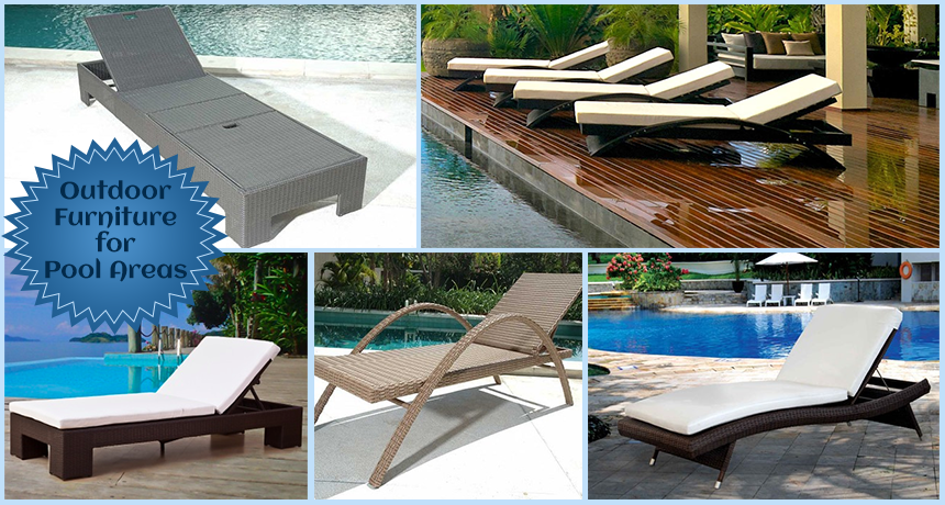 Poolside table and chairs best home design 2018 for Outdoor poolside furniture