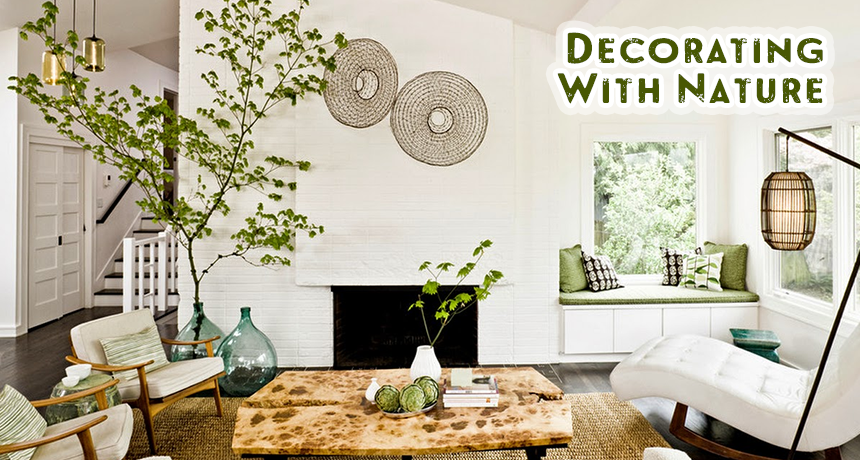 Decorating With Nature U2013 Home Decor Tips