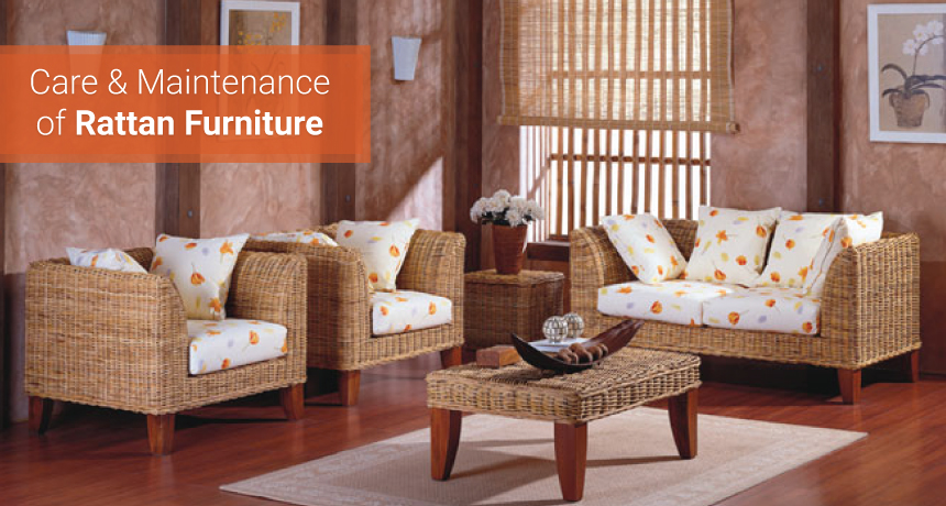Care & Maintenance of your Rattan Furniture