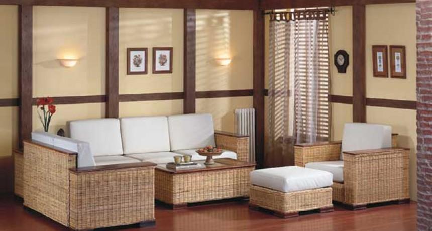Mundo Living Natural: Unicane Living Room Furniture Singapore