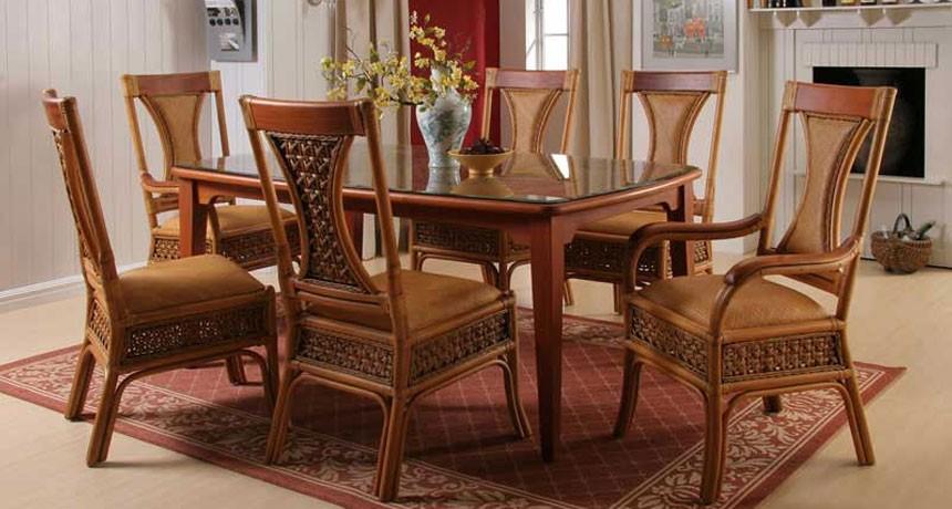 Barbara dining furniture unicane rattan singapore