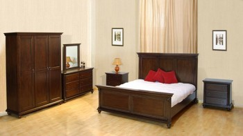 Borneo Bed Wooden Furniture