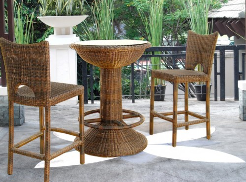 Singapore Outdoor Furniture DSC Bar Set
