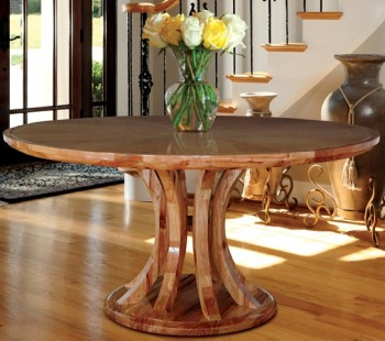 Lunar table wooden furniture Singapore
