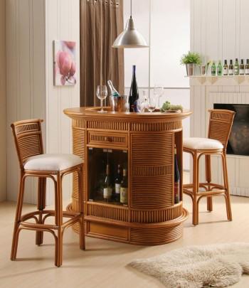 Ovaltine Bar Wicker Furniture