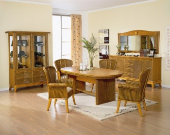 Sabrina Wicker Dining Furniture