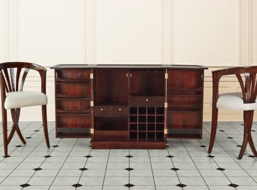 Victoria Bar Counter and Chairs Wooden Furniture