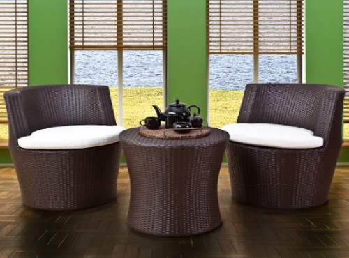 Modish nautica living outdoor wicker furniture unicane for Outdoor furniture singapore
