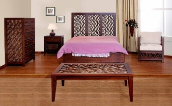 Uluwatu Bed Wooden Furniture
