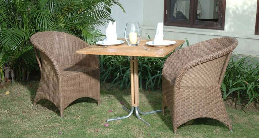 Hawaii Dining U2013 Rattan U0026 Teak Wood
