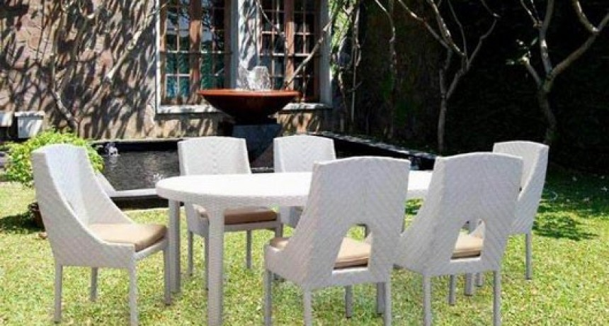 McGuire Dining. Dining, Outdoor Furniture - White Mcguire Dining - Outdoor Furniture By Unicane Singapore