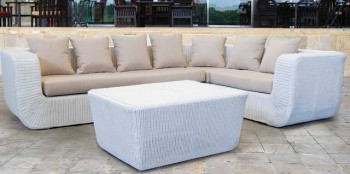 Snail Rattan Sofa | Outdoor Living Furniture