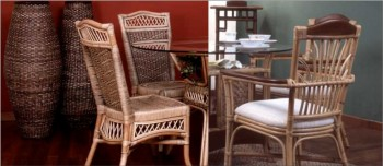 wicker furniture and rattan furniture
