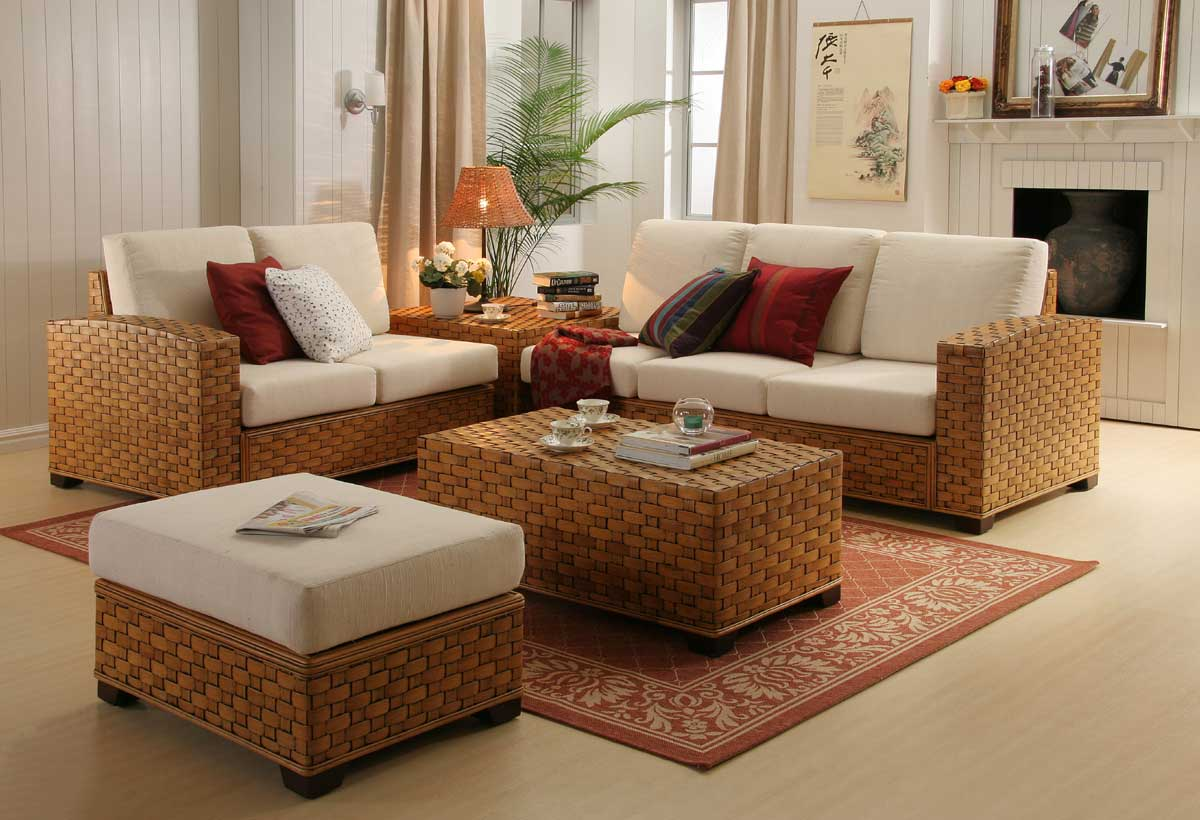 Image of: Buy Wicker And Rattan Furniture For Living Room Unicane Furniture Singapore
