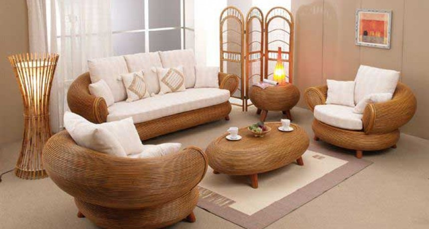 Bavaro Living Room Furniture Wicker
